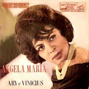 Angela Maria - Músicas de Ary Barroso e Vinicius de Moraes - Compacto Duplo (1962)