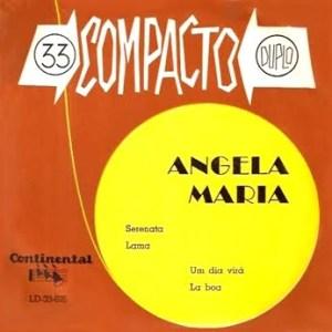 Angela Maria - Serenata - Compacto Duplo (1961)