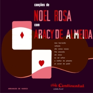 Aracy de Almeida- Cancoes de Noel Rosa Com Aracy de Almeida 10' LP (1955)