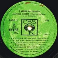 Manoel Gomes e Seu Conjunto - O Melhor de Chorinho (1967)