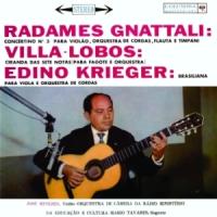 Orquestra de Camara da Radio Ministerio da Educacao e Cultura - Radames Gnattali / Villa-Lobos / Edino Krieger (N/D)